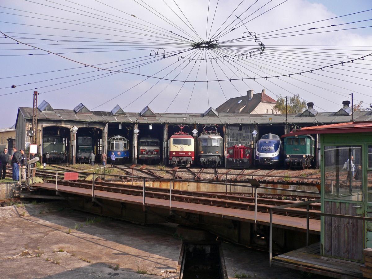Ringlockschuppen, Bahnpark Augsburg