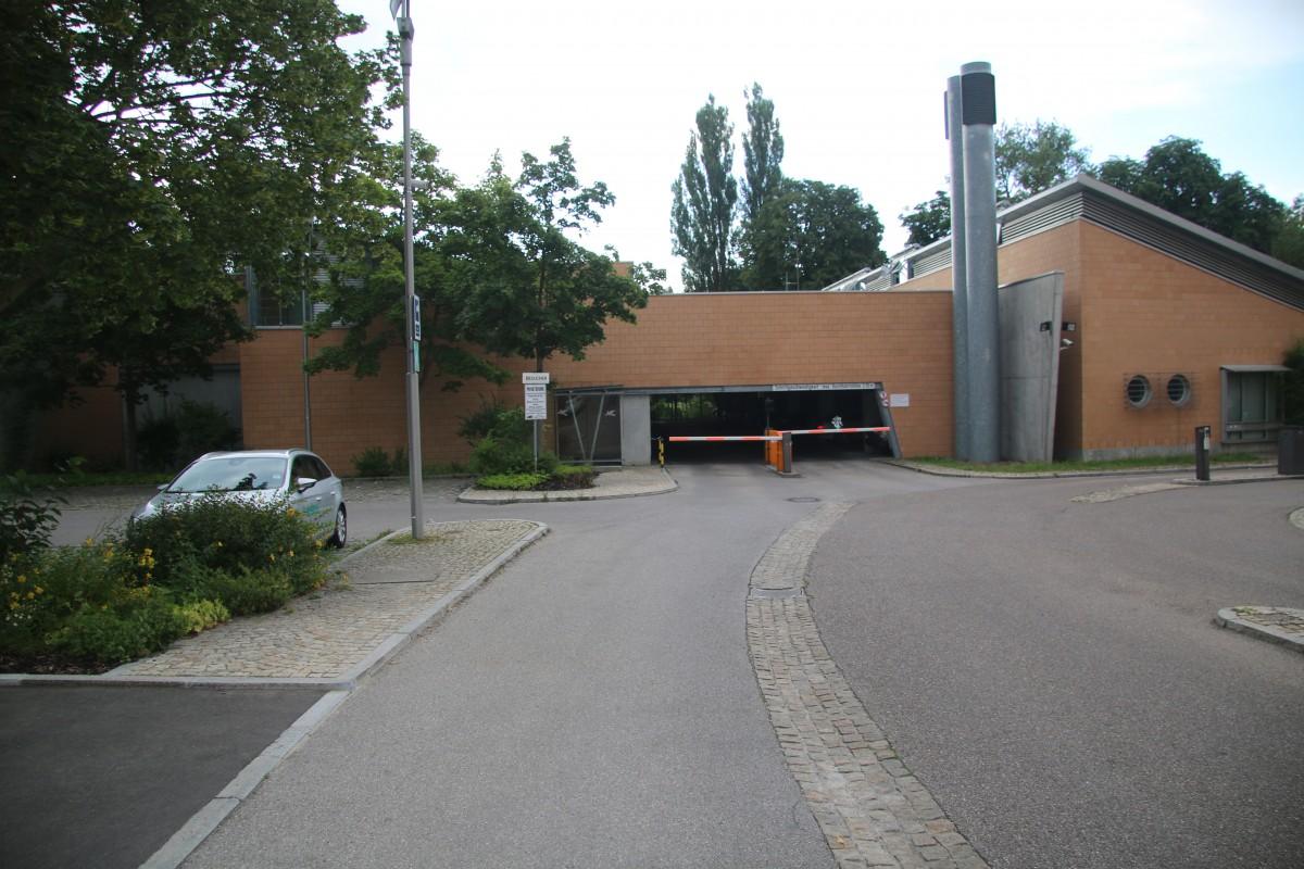 Parkhaus Polizeipräsidium Schwaben